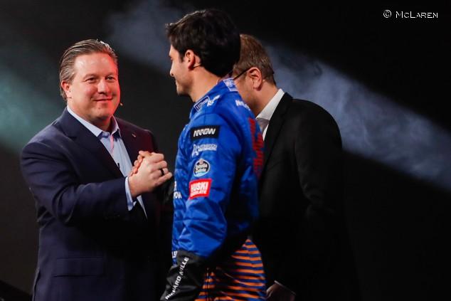 """Sainz ya habla de renovación con McLaren: """"Creo en este proyecto"""" - SoyMotor.com"""