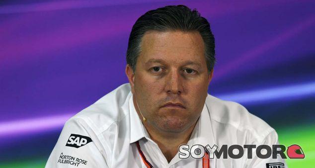 Brown lamenta la partida de sus patrocinadores hacia otros equipos - SoyMotor.com