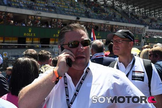 Zak Brown en Le Mans - SoyMotor.com