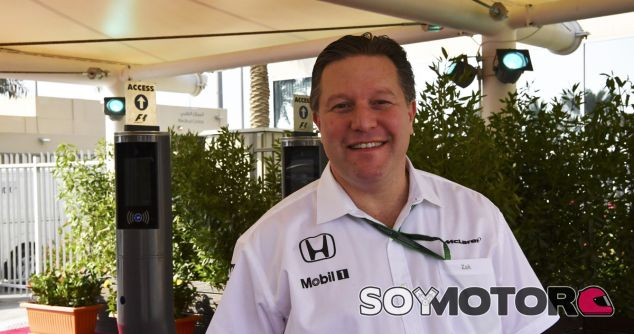 "Brown, cauto sobre 2017: ""No vamos a estar al frente de la parrilla"" - SoyMotor.com"