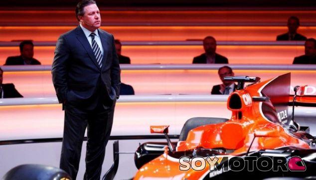 """Brown: """"Necesitamos tener un patrocinador principal en 2018"""" - SoyMotor.com"""