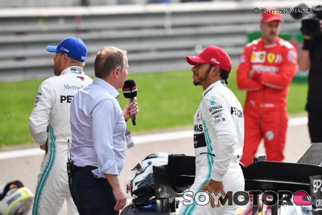 Hamilton puede superar las 100 victorias, cree Brundle - SoyMotor.com
