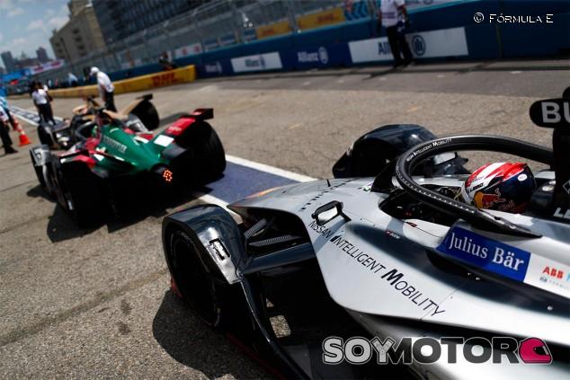 Lucas di Grassi y Sébastien Buemi en la clasificación de Nueva York - SoyMotor