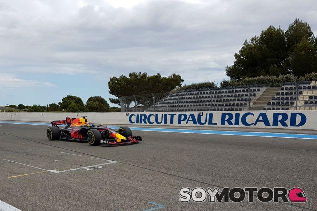 Buemi completa un test Pirelli en Paul Ricard - SoyMotor.com