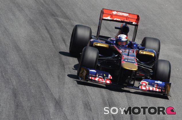 Daniel Ricciardo en su última carrera como piloto de Toro Rosso: Brasil 2011