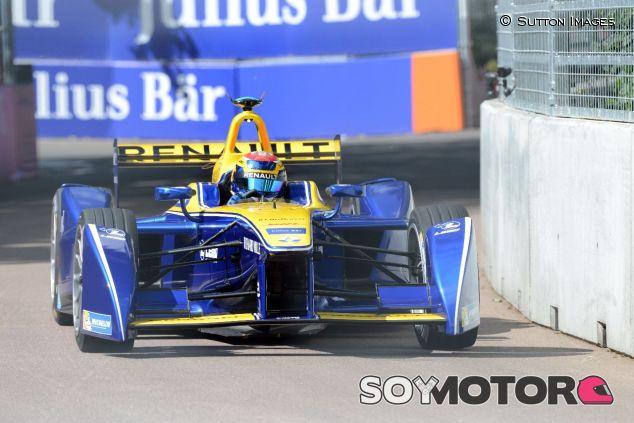 Sébastien Buemi con el Renault e.dams –SoyMotor.com