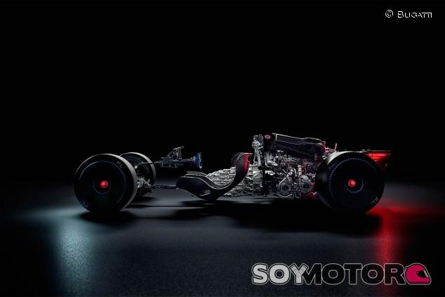 Los fundamentos del nuevo Bugatti Bolide - SoyMotor.com