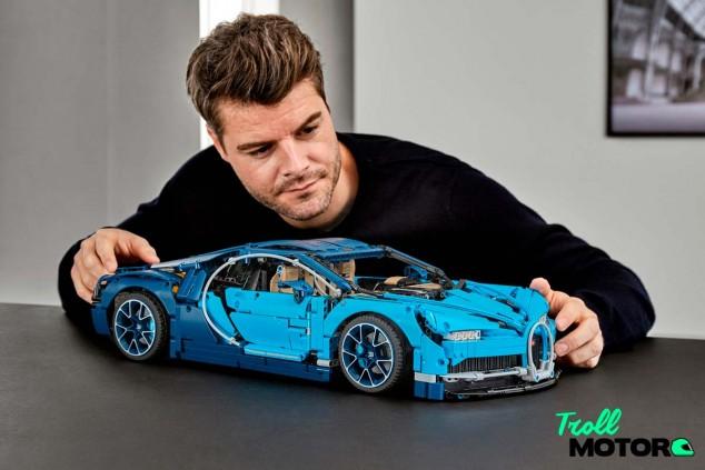 Bugatti Chiron de Lego - SoyMotor.com