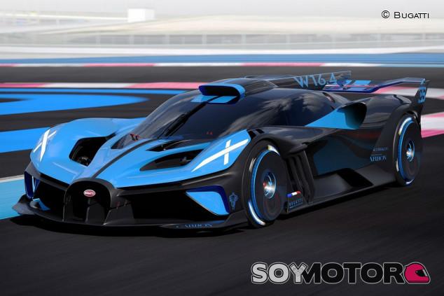 Bugatti Bolide: el más extremo jamás conocido - SoyMotor.com