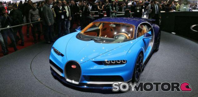 Bugatti Chiron - SoyMotor