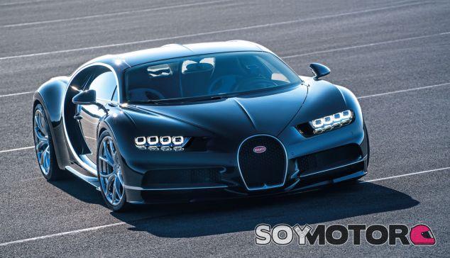El Bugatti Chiron es uno de los vehículos de producción más rápidos del mundo - SoyMotor.com