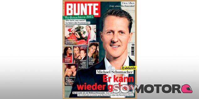 """""""Puede volver a andar"""", rezaba el titular de la revista Bunte - LaF1"""