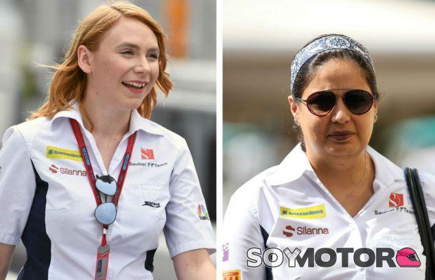 Las mujeres en F1: Ruth Buscombe y Monisha Kaltenborn - SoyMotor