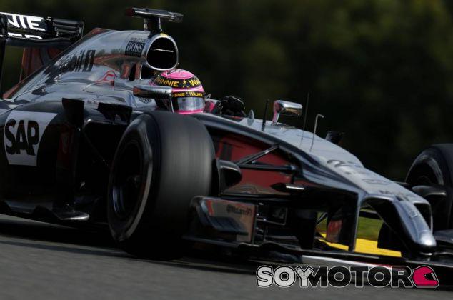 Jenson Button en Bélgica - LaF