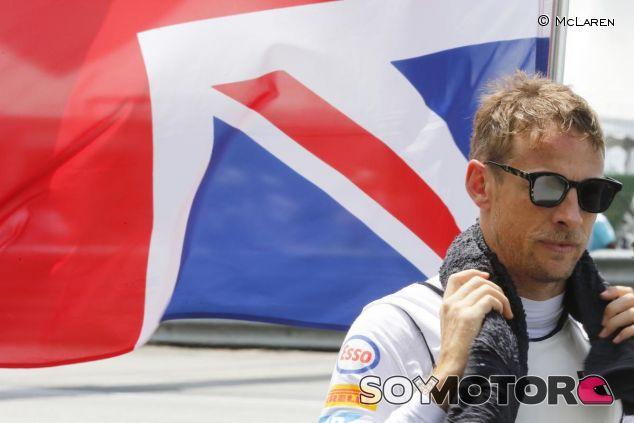 Jenson Button en la parrilla de Sepang - LaF1