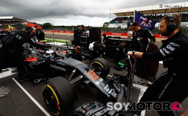 Jenson Button en Silverstone - LaF1