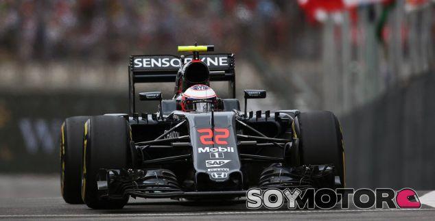 Button subido a su McLaren - LaF1
