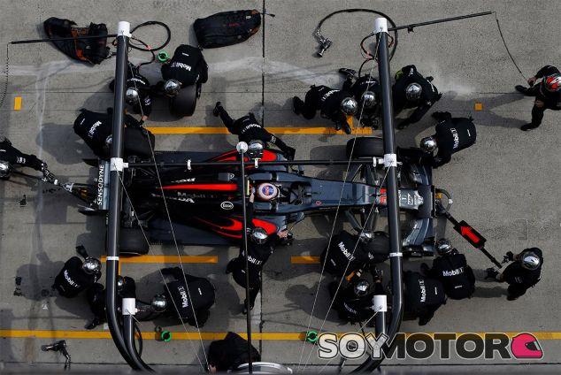 Jenson Button en China - LaF1