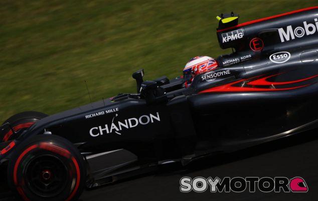 Jenson Button en la clasificación de Hungría - LaF1