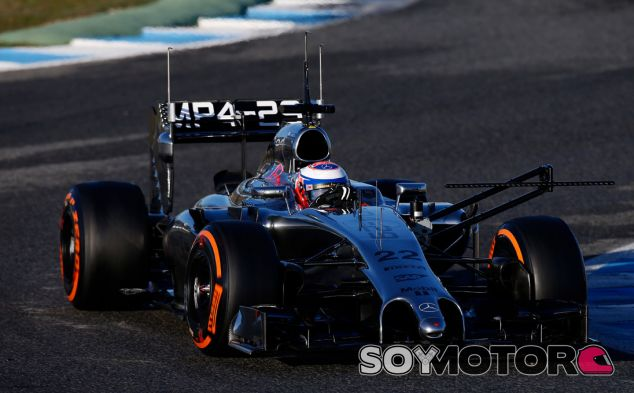 Jenson Button en los test de Jerez - LaF1