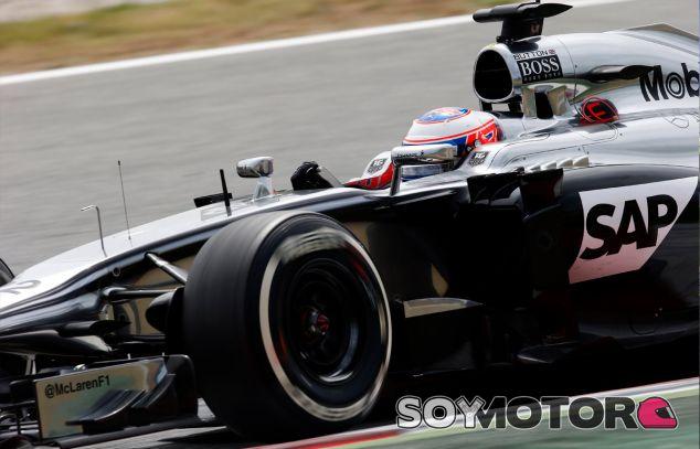 Jenson Button a los mandos del MP4-29, aún propulsado por Mercedes - LaF1