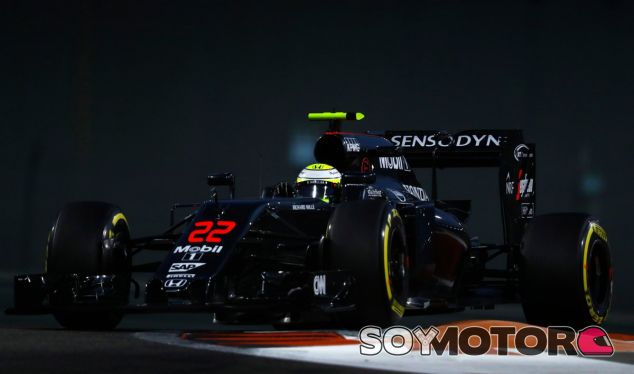 Button durante su último Gran Premio en Fórmula 1 - LaF1