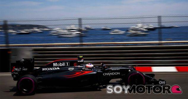 Jenson Button en Mónaco - LaF1