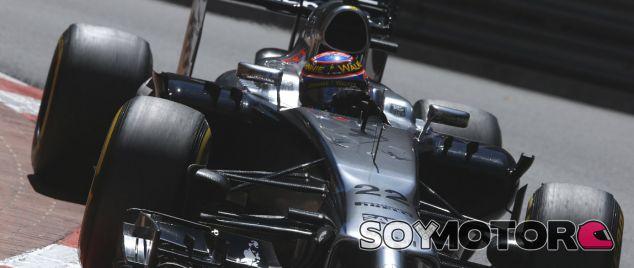 McLaren en el GP de Mónaco F1 2014: Domingo