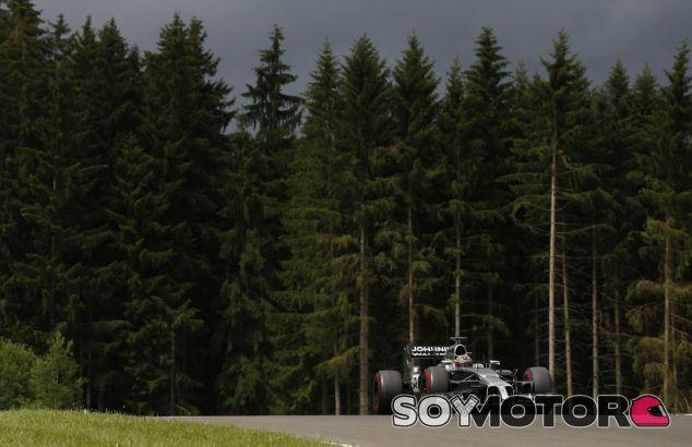 McLaren en el GP de Austria F1 2014: Sábado