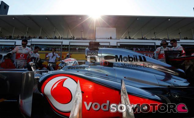 Jenson Button en la parrilla del GP de Japón - LaF1