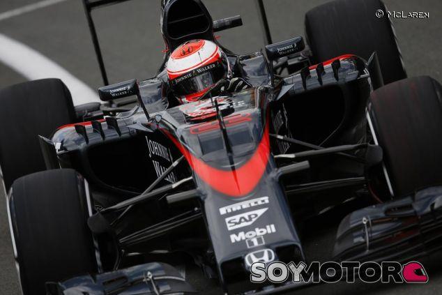 Jenson Button en Silverstone - LaF1.es