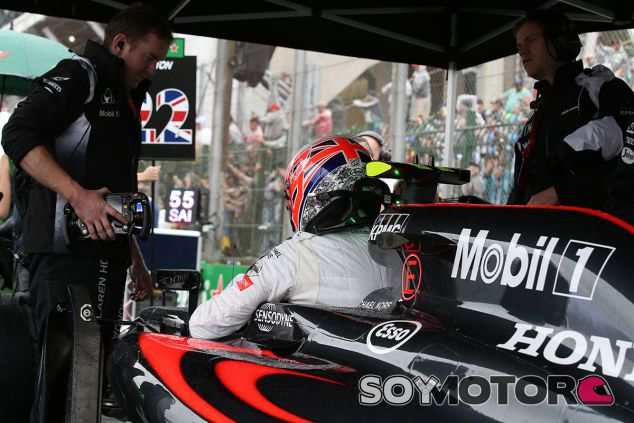 Jenson Button en una imagen de archivo - SoyMotor