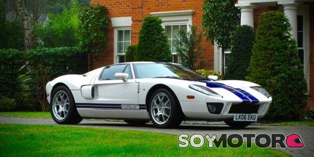 El Ford GT del cual Jenson Button era propietario - SoyMotor
