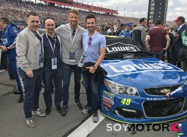 Jenson Button en la NASCAR –SoyMotor.com