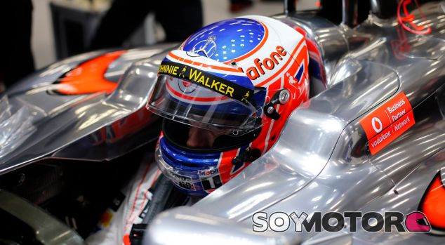 Jenson Button en su MP4-28