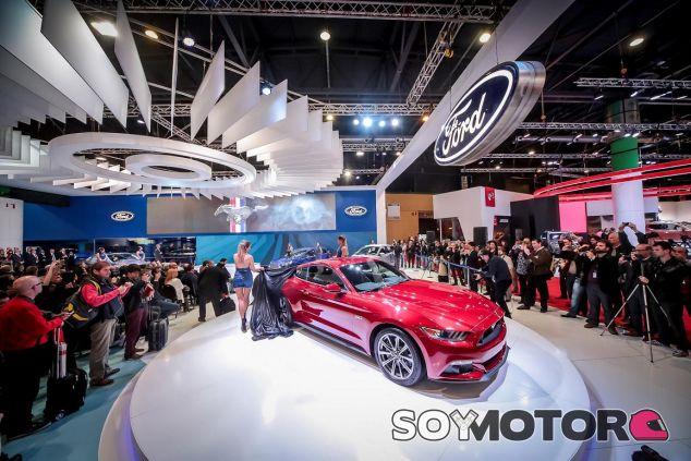Pabellón de Ford en un salón del automóvil -SoyMotor
