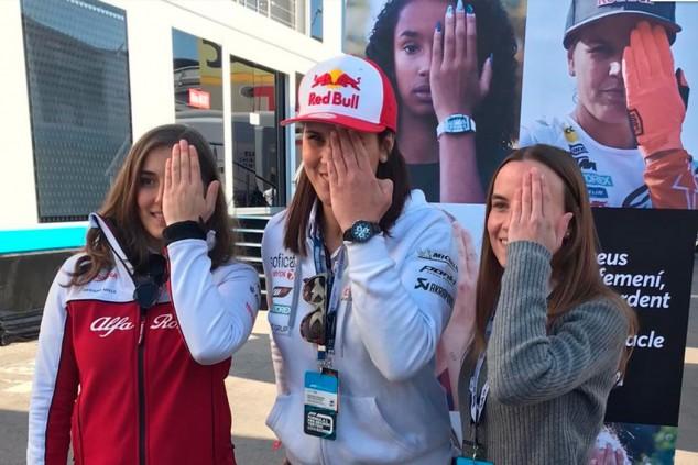 Tatiana Calderón, Belén García y Laia Sanz, por la visibilización del deporte femenino - SoyMotor.com