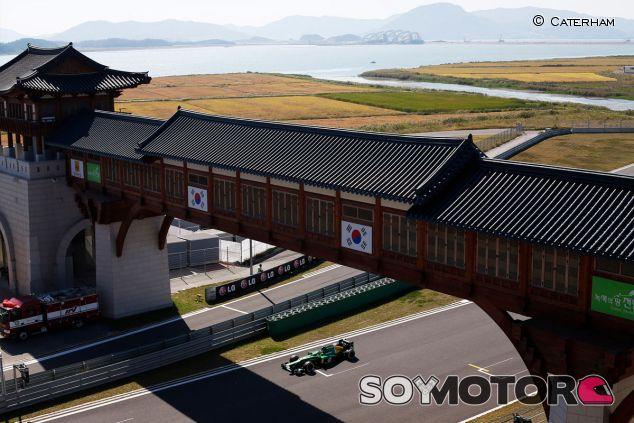 Charles Pic en el Gran Premio de Corea de 2013 - LaF1