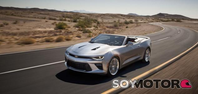 Así es el nuevo Chevrolet Camaro Convertible -SoyMotor