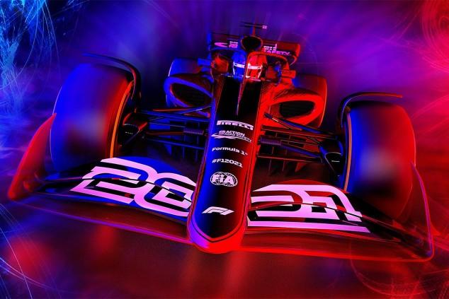 Render de un Fórmula 1 de 2021 - SoyMotor.com