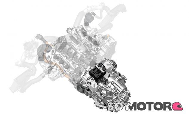 Cambio automático de nueve velocidades del Honda NSX 2017 - SoyMotor