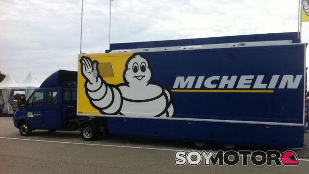 ¿Tendrán los camiones de Michelin un sitio en el paddock de la F1 a partir de 2017? - LaF1