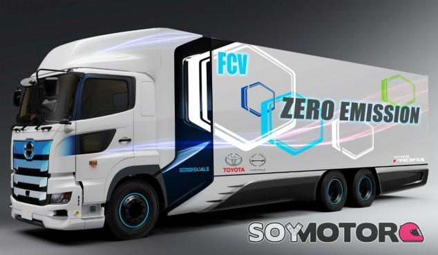 Toyota desarrollará un camión de hidrógeno de gran tonelaje - SoyMotor.com