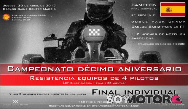 Campeonato de karting Carlos Sainz Center décimo aniversario - SoyMotor.com