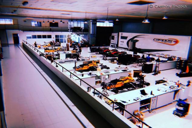 Diciembre, mes clave para el proyecto de Fórmula 1 de Campos - SoyMotor.com