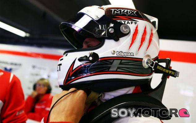 Max Chilton en el box de Canadá - LaF1