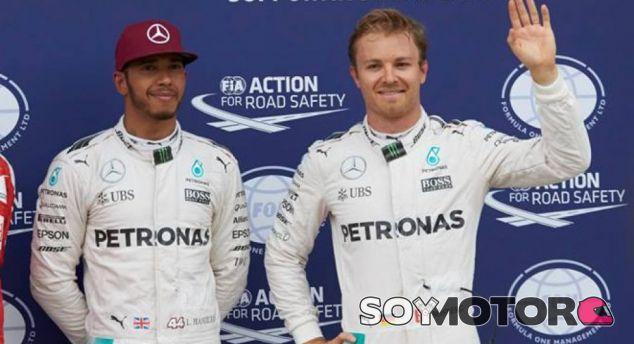 Lewis Hamilton y Nico Rosberg en Canadá - LaF1