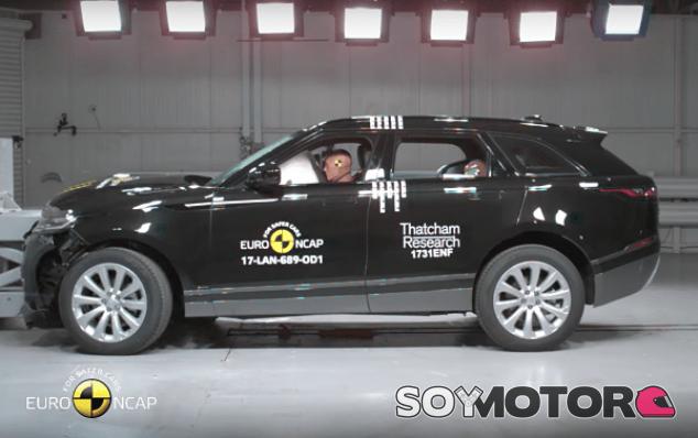 Range Rover Velar EuroNCAP - SoyMotor.com