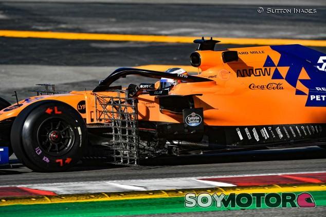 Carlos Sainz hoy en el Circuit de Barcelona-Catalunya - SoyMotor