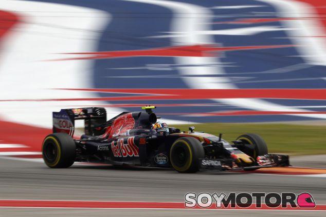 Carlos Sainz durante la carrera en Austin - LaF1